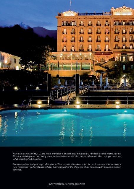 La BeLLe Époque is now - Grand Hotel Tremezzo