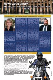 News aus Europa: 25. November 2012 - Dr. Thomas Ulmer MdEP