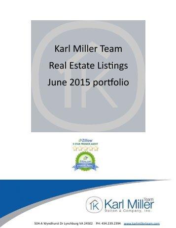 Karl Miller Team Real Estate Listings June 2015