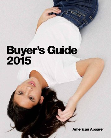 American Apparel Buyers Guide 2015