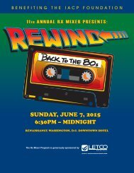 11th Annual Rx Mixer Presents: Rewind Back To The 80s