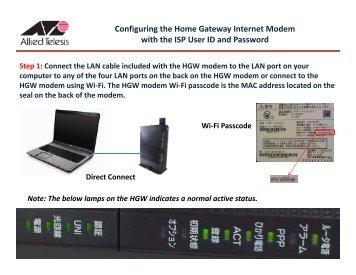 configuring thompson twg870 wifi modem melita UTStarcom Vonage UTStarcom UM100C