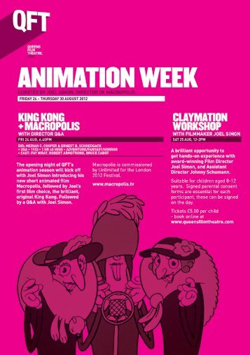 ANIMATION WEEK - Queen's Film Theatre