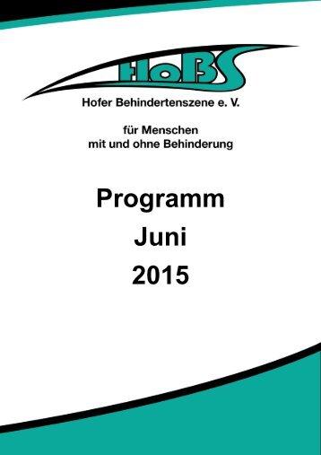 Juni Programm 2015