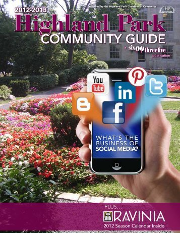 2012 Community Guide - Highland Park Chamber of Commerce
