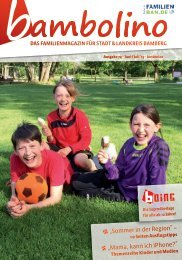 Bambolino - Das Familienmagazin für Bamberg und Landkreis