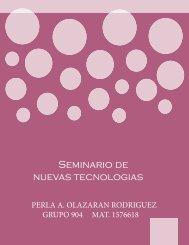 Seminario de nuevas tecnologias