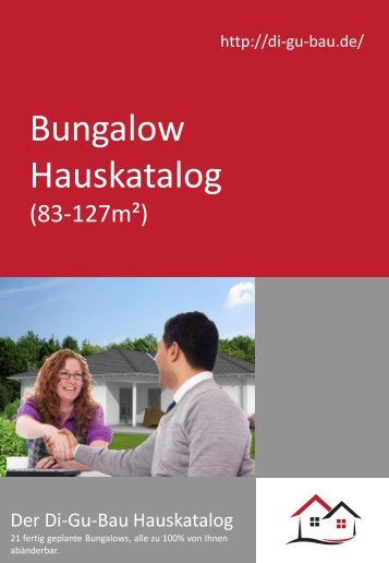Bungalow Hauskatalog