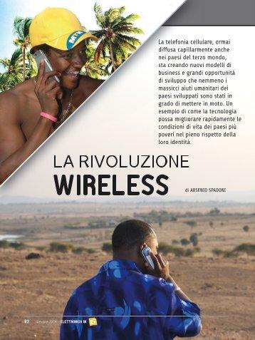 La rivoluzione wireless - ElettronicaIn
