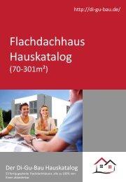 Flachdachhaus Hauskatalog