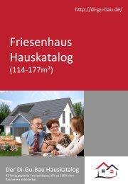 Friesenhaus Hauskatalog