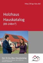 Holzhaus Hauskatalog