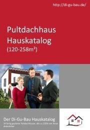 Pultdachhaus Hauskatalog