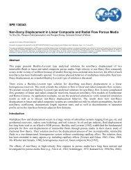SPE International Symposium & Exhibition on Formation Damage ...