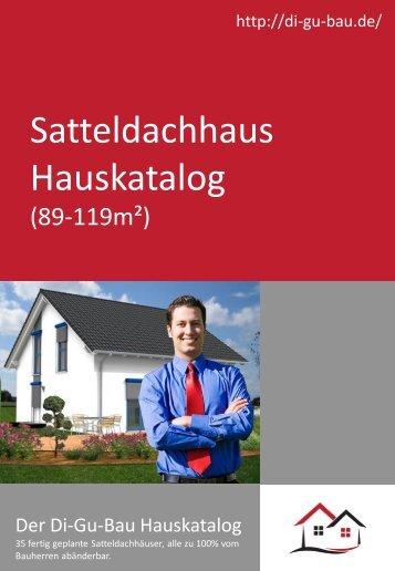 Satteldachhaus Hauskatalog (89-119m²)