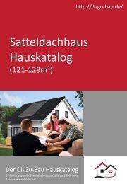 Satteldachhaus Hauskatalog (121-129m²)