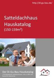 Satteldachhaus Hauskatalog (150-159m²)