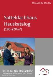 Satteldachhaus Hauskatalog (180-220m²)