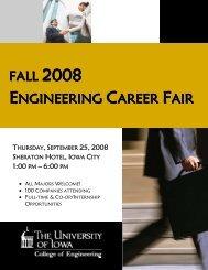 FALL ENGINEERING CAREER FAIR - College of Engineering