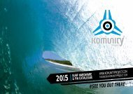 Catálogo Komunity Project 2015
