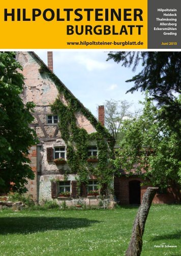 Hilpoltsteiner Burgblatt 2015-06