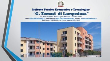 """POF 2014-2015 ITET """"G. Tomasi di Lampedusa"""""""