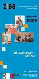 Download des ZiBB-Programms 2009
