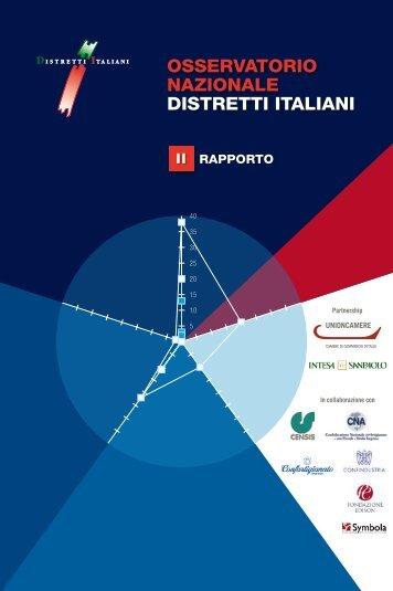 II Rapporto Osservatorio Nazionale Distretti Italiani - Unioncamere