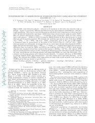 Interferometric CO Observations of submillimeter-faint, radio ...