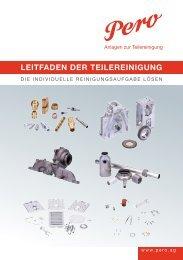 technische sauberkeit - PERO AG