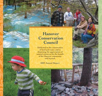 FY 2009 - Hanover Conservancy