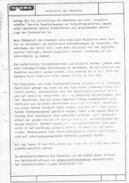 Bedienungsanleitung für Typ SF3SFA - Hirsch System ...