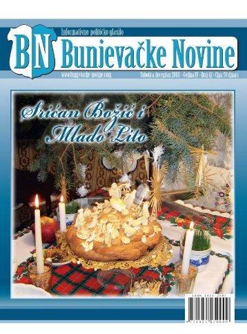 bunjevacke novine decembar crno belo:master kolor - Bunjevci