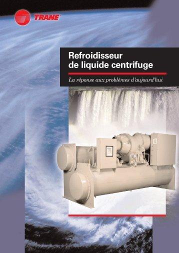 Refroidisseur de liquide centrifuge