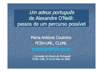 (Microsoft PowerPoint - Um adeus portugu\352s_DMEP.ppt [Modo ...