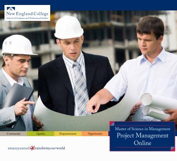 Project Management Online - New England College