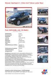 Preis: EUR 24.980,- (inkl. 19% MwSt.) - Autohaus Perras
