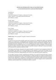 Sistema de información para el seguimiento del catálogo ... - CREAF