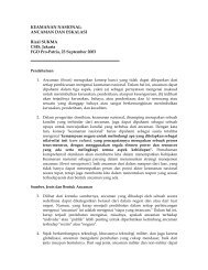 Keamanan Nasional-Ancaman dan Eskalasi