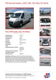 Preis: EUR 25.490,- (inkl. 19% MwSt.) - Autohaus Perras