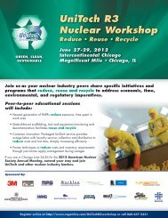 UniTech R3 Nuclear Workshop
