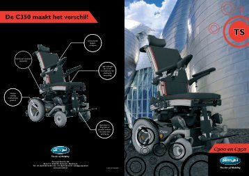 De C350 maakt het verschil! - Permobil