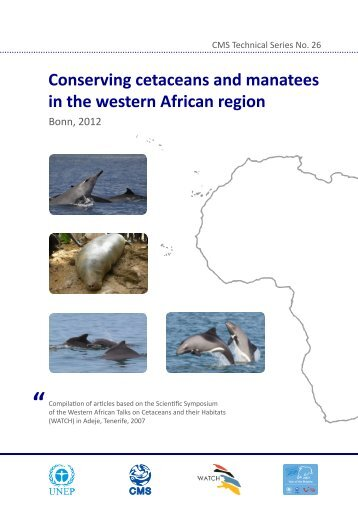 cetaceans and manatees in the western African region