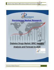 Diabetes Drugs Market: BRIC Industry Analysis and Forecast to 2020