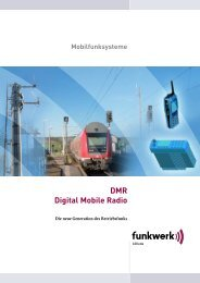 DMR Digital Mobile Radio - NT Neue Technologie AG