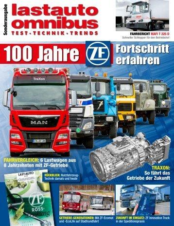 lastauto omnibus - Sonderausgabe 100 Jahre ZF