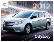 Odyssey 2012 - Honda Canada