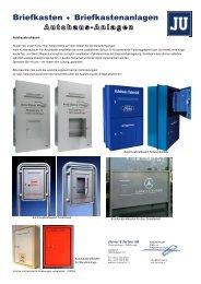 Briefkasten Briefkastenanlagen