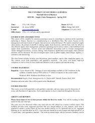 Detailed course plan (tentative) - Beyond Grey Pinstripes