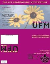 InFo@tryUFM.org - UFM Community Learning Center